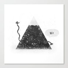 Happy Mountain Canvas Print