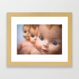 Baby Blue Eyes Framed Art Print