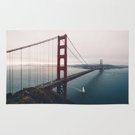 Golden Gate Bridge - San Francisco, CA Rug