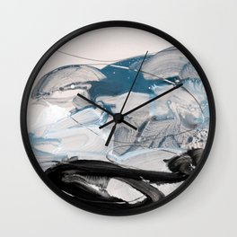 abstract painting IX Wall Clock