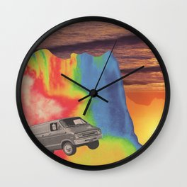 What A Long Strange Trip It's Been Wall Clock
