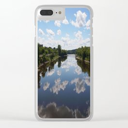 Jacques Cartier Bridge Clear iPhone Case