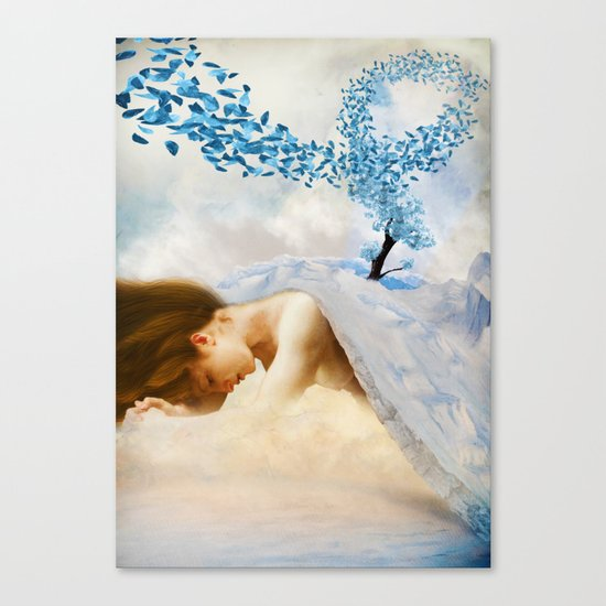 Winter's Mourn Canvas Print