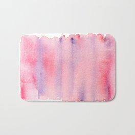 141217 Abstract Watercolor 5 Bath Mat