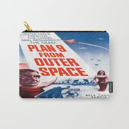Vintage poster - Plan 9 from Outer Space Carry-All Pouch