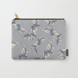 tropical gentle falling leaves Carry-All Pouch
