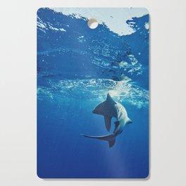 Shark Swimming Cutting Board