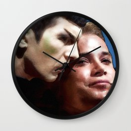Touch of Souls Wall Clock