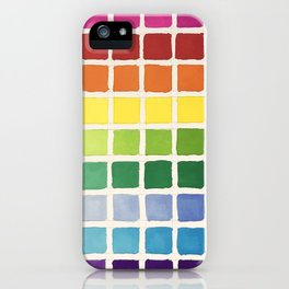 Rainbow Swatch by Diane Bleck iPhone Case