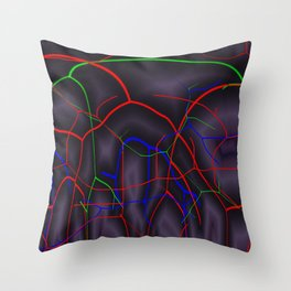 Mysteriously ways of life Throw Pillow