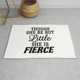 Little & Fierce Rug
