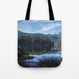 View of Fish Lake Tote Bag