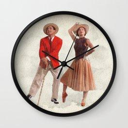 An American in Paris - Watercolor Wall Clock