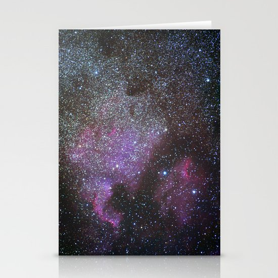 North America Nebula and Pelican Nebula Stationery Cards