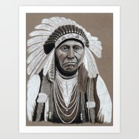 Old Chief Art Print