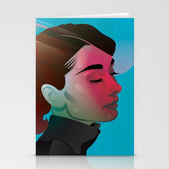 Classy- Audrey Hepburn Stationery Cards
