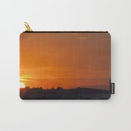Sunset at seaside in Izmir (Turkey) Carry-All Pouch