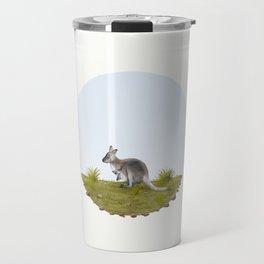 Bennett's wallaby (Macropus rufogriseus) Travel Mug