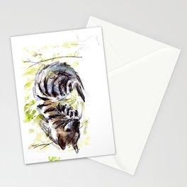 Totem striped hyena (Hyaena hyaena) Stationery Cards