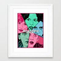 breakfast club Framed Art Prints featuring Breakfast Club Colors by David Amblard