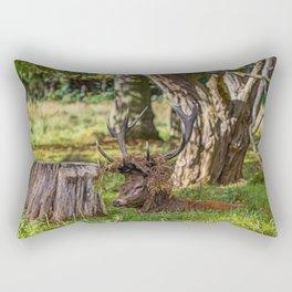 The Stag. Rectangular Pillow