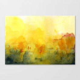 Memory of a landscape Canvas Print