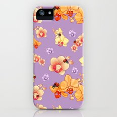 Orchids & Ladybirds iPhone (5, 5s) Slim Case