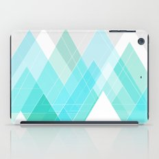 Icy Grey Mountains iPad Case