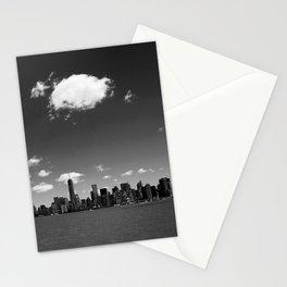 NYC Skyline B&W Stationery Cards