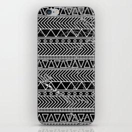 tribal marble iPhone Skin
