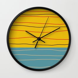 Minimal Abstract Art - Badalisc Wall Clock