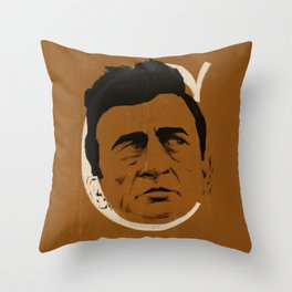 C is for Cash Throw Pillow