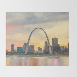 St Louis - USA Throw Blanket