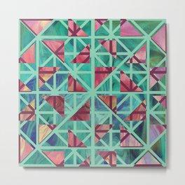 Geometric Shapes: Triangles 02 Metal Print