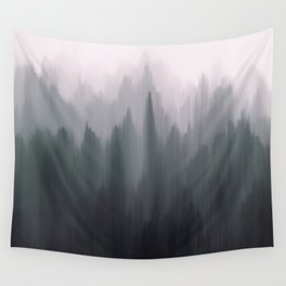 Morning Fog II Wall Tapestry