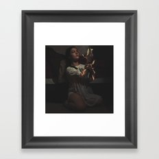 In a Firey Passion Framed Art Print