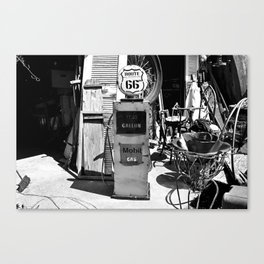 Route 66 Gas Canvas Print