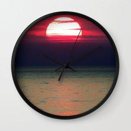The Setting of the Sun Wall Clock