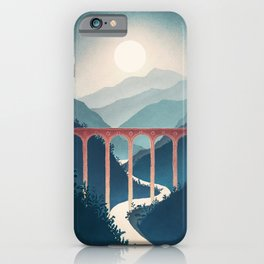 Indigo Valley iPhone Case
