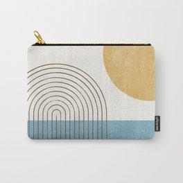 Sunny ocean Carry-All Pouch