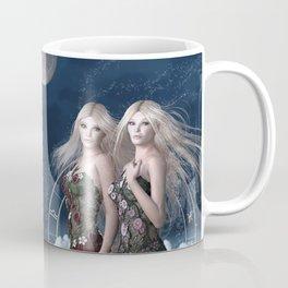 Gemini zodiac fantasy Coffee Mug