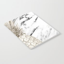 Marble Pineapple Notebook