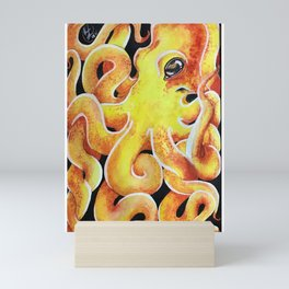 The Octopus Experiment Mini Art Print