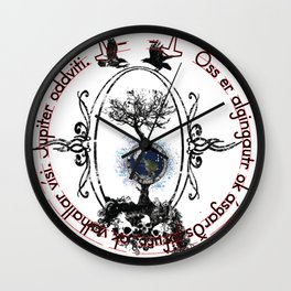 Yggdrasill Wall Clock