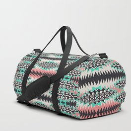 Tribal Beat Geo Pastel Duffle Bag