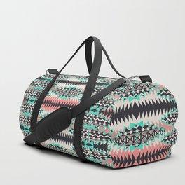 Tribal Beat Geo Pastel Duffle Bag