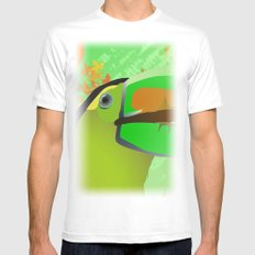 africa Mens Fitted Tee White SMALL