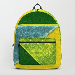 Abs Geometry lemon Backpack