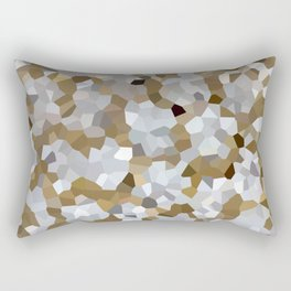 Blue Chamomile Rectangular Pillow
