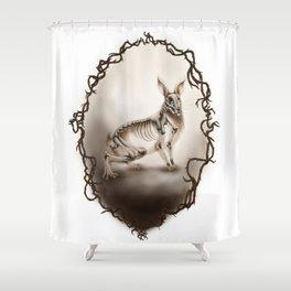 Corvus Cervus Lepus Series - Europaeus Shower Curtain